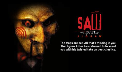 film called jigsaw saw the games of jigsaw coming to halloween horror