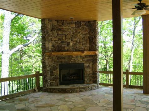 outside corner fireplace 17 best images about patio fireplace on