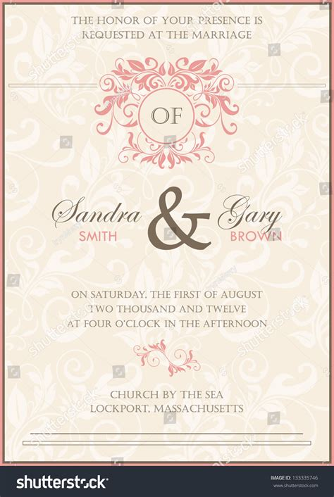 vector wedding invitations wedding invitation vector yourweek f60cbbeca25e