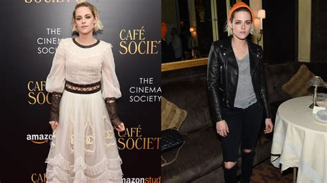 Do You Prefer This Ethereal Chanel In Real Or World by Which Of Kristen Stewart S Cafe Society Premiere Looks