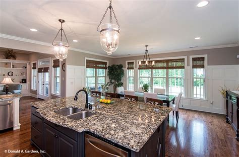 How A Kitchen Island Adds Value To A Kitchen House Plans Large Kitchen Island