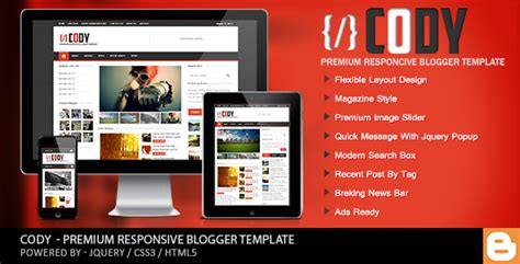 themeforest templates free download cody responsive magazine blogger template free download