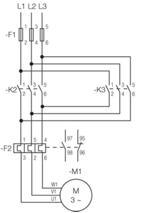 reversing contactor diagram contactor wiring diagram start
