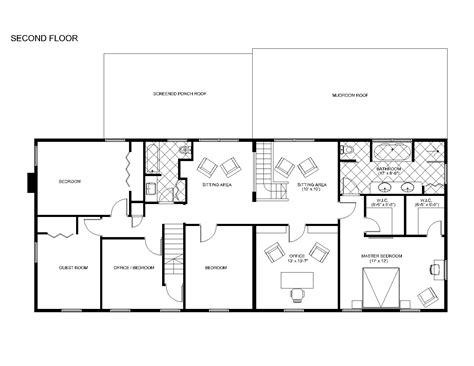 ranch addition floor plans ranch home addition floor plans