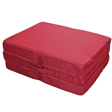 Folding Bed With Mattress Foldable Mattress Folding Mattress Guest Mattress Spare Bed 195x80x10cm Ebay