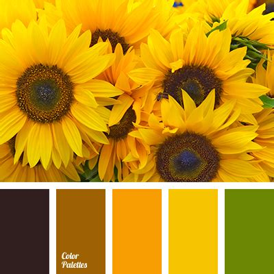colors of sunflowers green color palettes page 29 of 192 color palette ideas