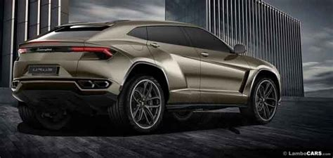 upcoming lamborghini urus