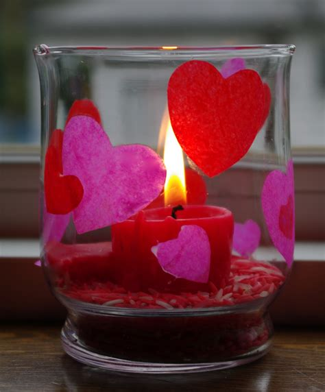 passengers on a little spaceship valentine candle and colored rice
