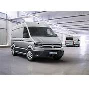 New 2017 Volkswagen Crafter Debuts With FWD Option US Market Entry