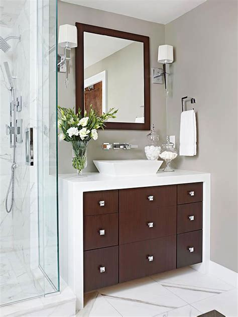 Master Bathroom Makeovers by Modern Master Bathroom Makeover