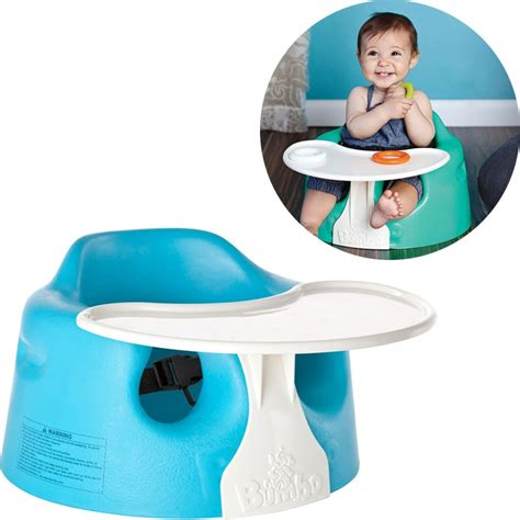 bumbo seat with toys play tray by bumbo