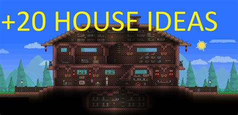 terraria houses designs amazing terraria house ideas 20 house ideas part 1 youtube