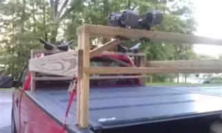 Diy Truck Canoe Rack by Bayumi
