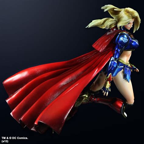 Mainan Superman Supergirl Set 2 Figure play arts supergirl figure at mighty ape nz