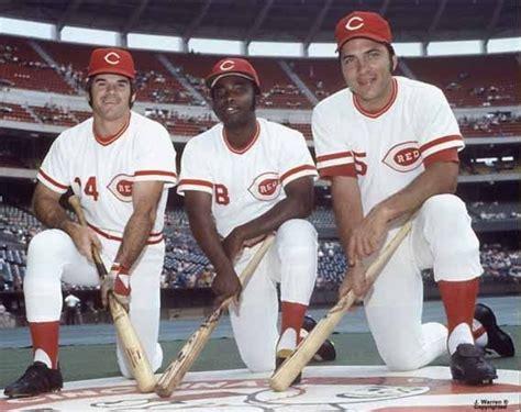 johnny bench pete rose 17 best ideas about cincinnati baseball on pinterest