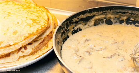 cara membuat pancake roll cooking diary swedish pancake with mushrooms filling