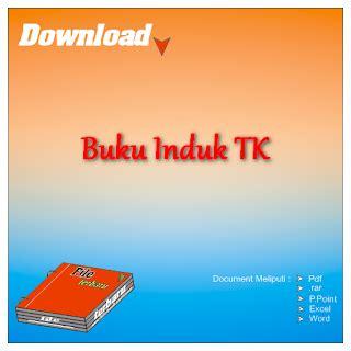 format buku tabungan tk download contoh format buku induk siswa tk gratis file