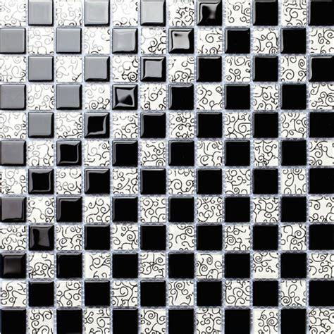 Cuisine Noir Et Blanc 197 by Achetez En Gros Discount Black White Mosaic Tile En Ligne