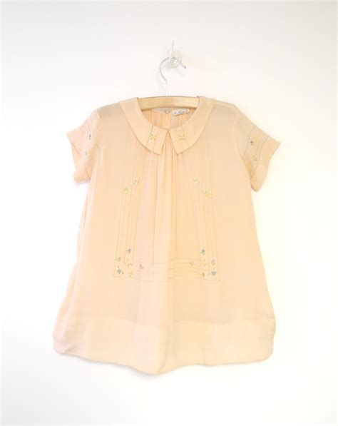 Handmade Clothes Vintage - vintage baby clothes 1920 s handmade light pink silk by