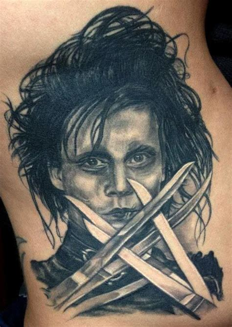 edward scissorhands tattoo edward scissorhands tats