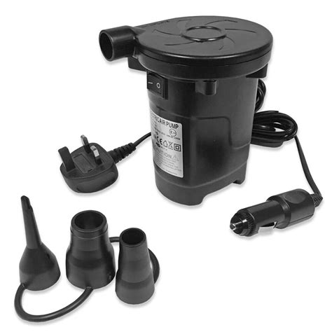 fast dual function electric air pump ac dc double single