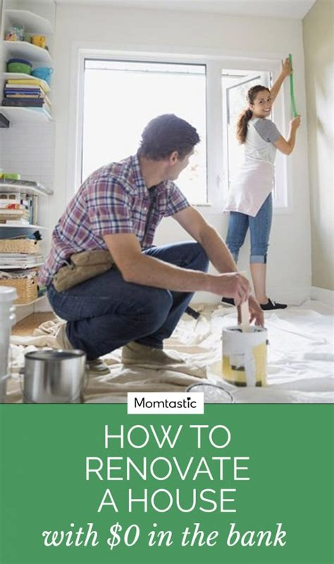how to renovate a house with no money how to renovate a house with 0 in the bank
