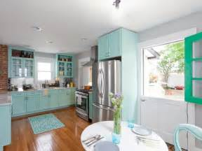 Teal Kitchen Cabinets by Photos Hgtv