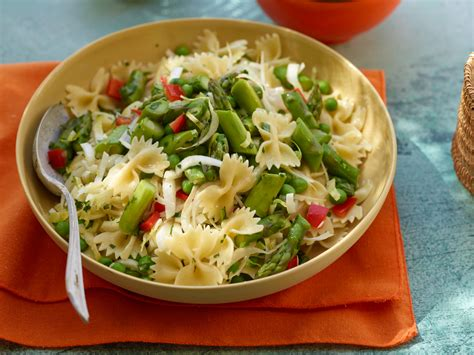 recipes for pasta salad asparagus pasta salad recipe rachael ray food network