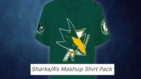 San Jose Sharks Promotional Giveaways - sharks will give fans warriors themed jerseys as a promotional giveaway this season