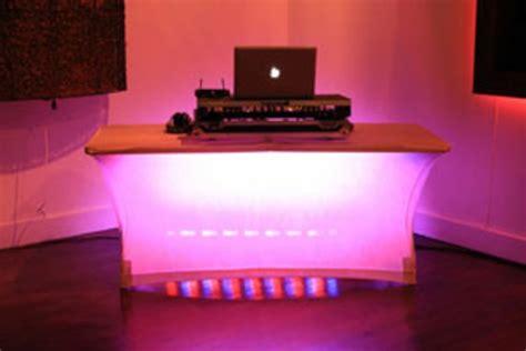 dj beleuchtung moderne dj tische 30 beispiele