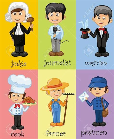 imagenes en ingles de oficios aprendiendo las profesiones en ingles las profesiones