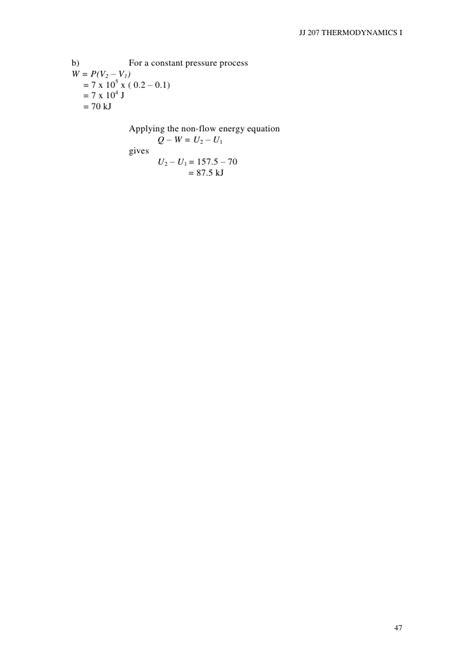 thermodynamics chapter 2 jj207 thermodynamics i chapter 2