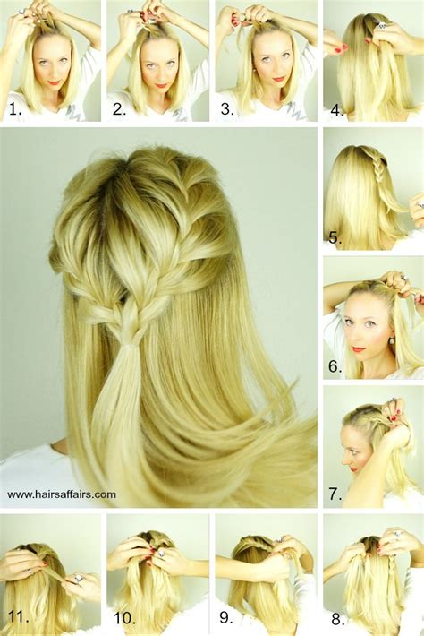 how to 6 easy lazy summer hairstyles hair tutorial word w easy lazy day hairstyles french braid tieback cgh