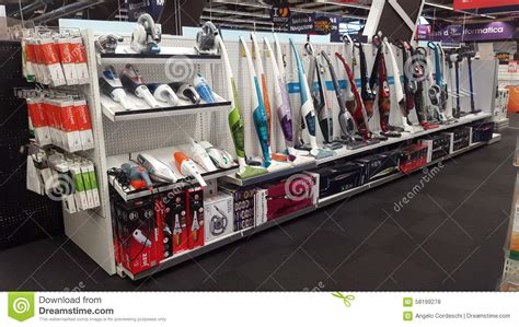 home appliances store editorial image image of shopping appliance store sales of vacuum cleaners editorial stock