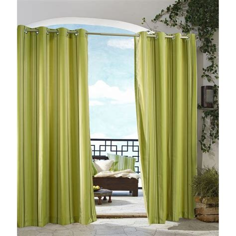 outdoor grommet curtains outdoor decor gazebo stripe indoor outdoor grommet top