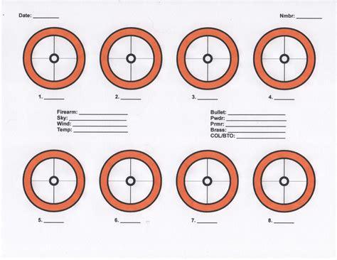 printable load development targets printable targets on 8 1 2 x 11 paper ar15 com