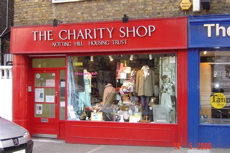 Foundation Shop notting hill housing trust charity shops uk indymedia