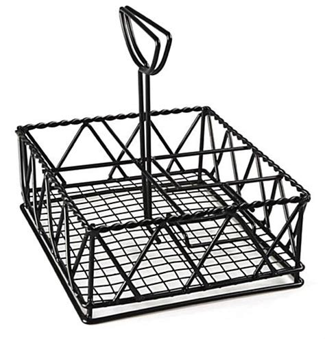 table caddy for restaurant 4 table caddies with large compartment