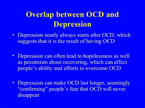 9 Tips On Dealing With Ocd by Ocd Depression And Ocd