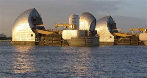 thames barrier upgrade the great barrier relief inside london s heavy metal and