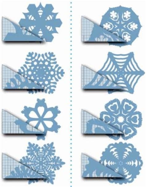 diy paper snowflakes templates diy snowflake templates ideas