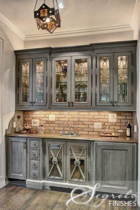 grey wash kitchen cabinets grey washed cabinets brick beautiful kitchens pinterest