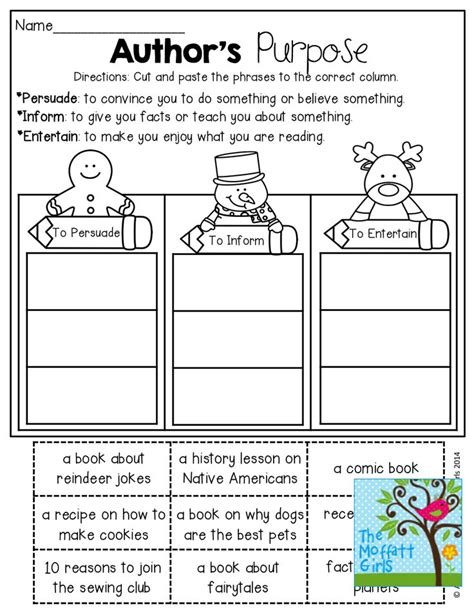 Author S Purpose Worksheet by 25 Best Ideas About Authors Purpose Activities On