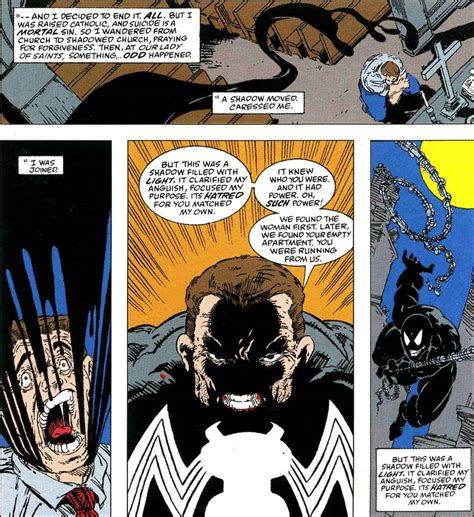spider birth of venom spider birth of venom gives readers a look at the