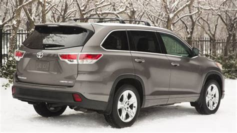 Toyota Highlander Fuel Economy Toyota Highlander Gas Mileage 2014 Reviews Prices