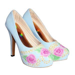 Sale Boots Blossom Hitam toko grosir sepatu wanita model terbaru