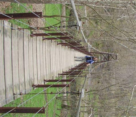 swinging bridge park this swinging bridge in maryland is worth a visit