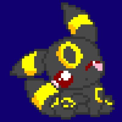umbreon pixel template umbreon pixel minecraft images images