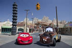 Lightning Mcqueen Cars 2 Adventure Cars Land The Magic Is In The Details The Disney