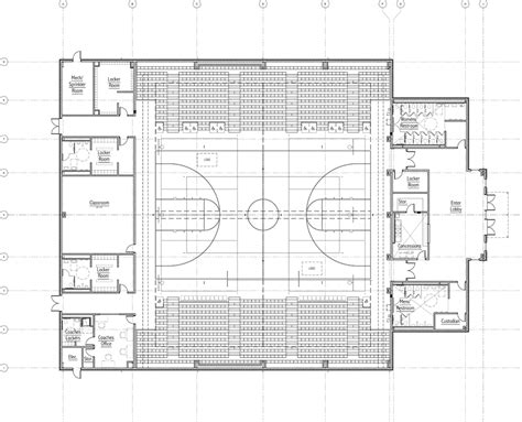 gymnasium floor plans new gym to give space value to students the paper wolf